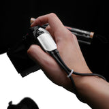 Gariz Mirrorless Camera Wrist Strap (White + Black)