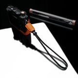 Gariz Mirrorless Camera Wrist Strap (Orange + Black)