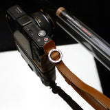 Gariz Wrist/Finger Strap (Light Brown)