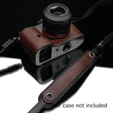 Gariz Camera Neck Strap (Brown/Black)
