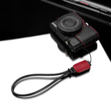 Gariz Mirrorless Camera Wrist Strap (Red + Black)