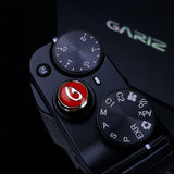 Gariz Metal Soft Button (Set of 2 - Black & Red)