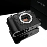 Gariz Fujifilm X-T1 Leather Camera Half Case (Black)