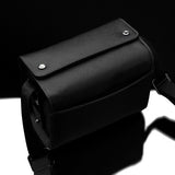 Gariz Black Label Leather Camera Bag for SONY NEX (Black - Small)