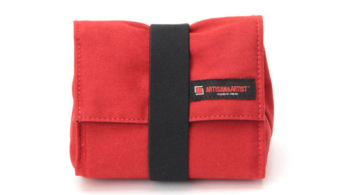 Artisan & Artist ACAM 75 Camera Pouch (Red)