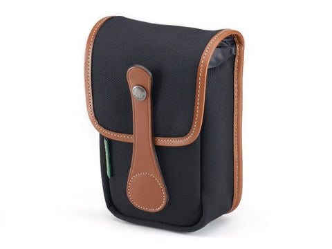 Billingham Avea 5 Pouch (Black with Tan Leather Trim)