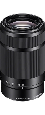Sony E 55-210mm f/4.5-6.3 OSS (Black)