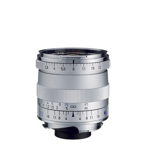 Zeiss Biogon T* 25mm f/2.8 ZM (Silver)