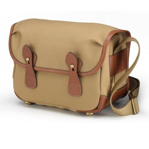 Billingham L2 Shoulder Bag (Khaki FibreNyte With Tan Leather Trim)