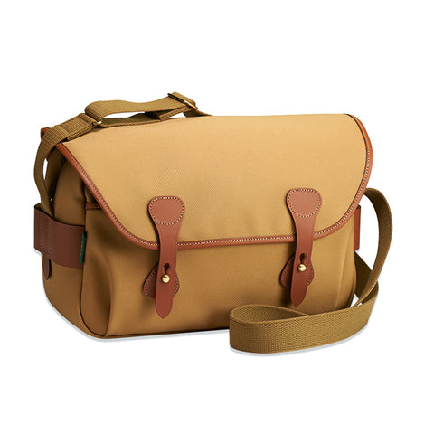 Billingham S4 Shoulder Bag (Khaki Canvas / Tan Leather Trim)