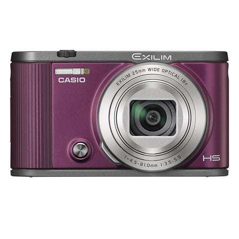 Casio EX-ZR2100 Digital Camera (Wine Red)