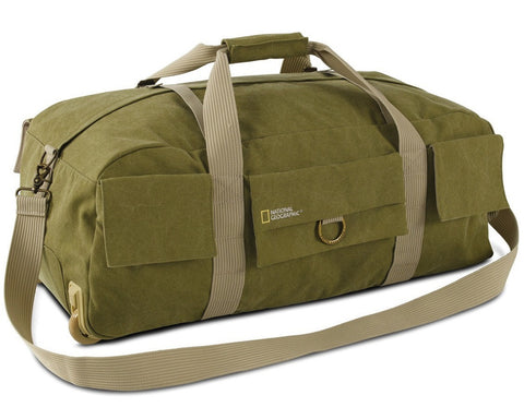 National Geographic Earth Explorer Collection NG 6130 Duffel Bag with Wheels