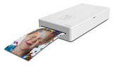 Prinics PicKit M1 Smartphone Photo Printer (White) + 1 Cartridge for PicKit M1
