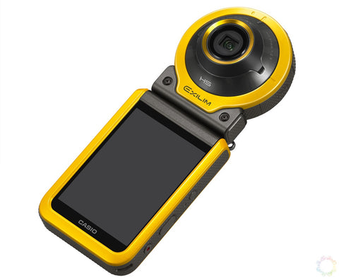 (SALE) Casio EX-FR100 Beauty Action Camera (Yellow)