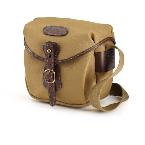 Billingham Hadley Digital Shoulder Bag (Khaki FibreNyte With Chocolate Leather Trim)