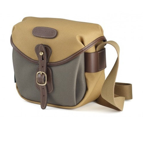 Billingham Hadley Digital Shoulder Bag (2-Tones Khaki/Sage FibreNyte With Chocolate Leather Trim)
