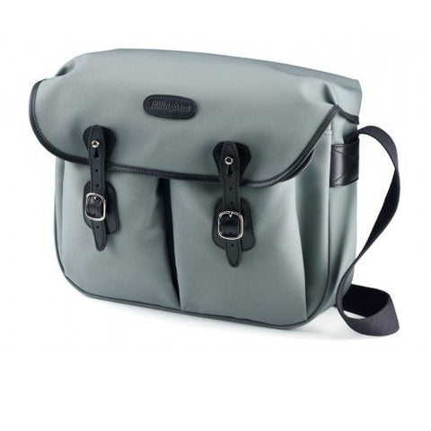 Billingham Hadley Large Shoulder Bag (Grey With Black Leather Trim)