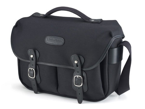 Billingham Hadley Pro Shoulder Bag (Black FibreNyte With Black Leather Trim)