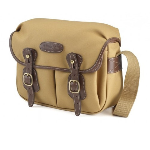 Billingham Hadley Small Shoulder Bag (Khaki FibreNyte With Chocolate Leather Trim)