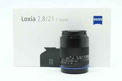 Used -Zeiss 21mm F2.8 Loxia E-Mount LEN,99.9% LIKE NEW,YL PUDU