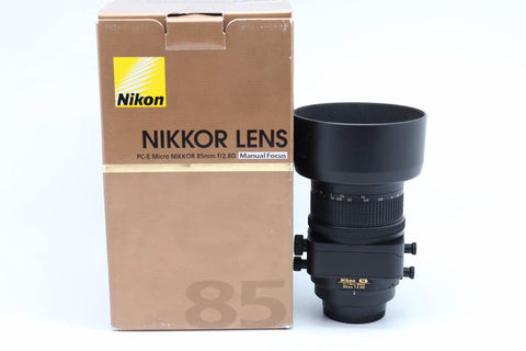 Used- Nikon 85mm F2.8 PC-E Micro Lens,95% Like New, SN:202266,YL PUDU