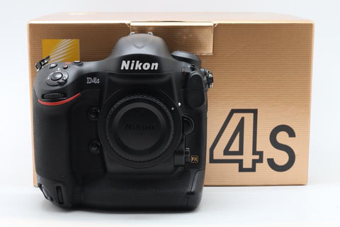 USED-Nikon D4S Camera Body only,95% LIKE NEW,s/n 2014499,YL PUDU