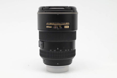 USED-Nikon 17-55mm F2.8G AFS DX LENS  85% LIKE NEW,s/n 453787,YL PUDU