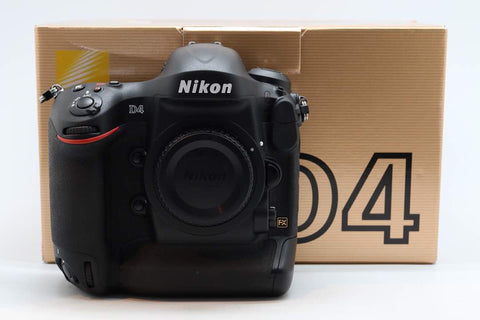 USED-Nikon D4 CAMERA BODY 95% LIKE NEW,s/n 2065864,YL PUDU