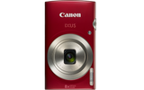 Canon Digital IXUS 185 (Red) [FREE 16GB SD Card & Camera Case]