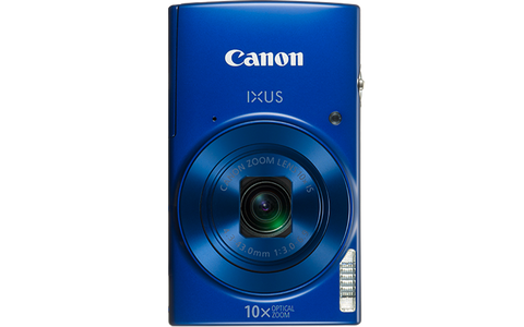 Canon Digital IXUS 190 (Blue) [FREE 16GB SD Card & Camera Case]