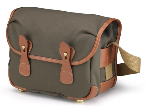 Billingham L2 Shoulder Bag (Sage FibreNyte With Tan Leather Trim)