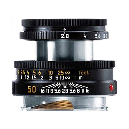 Leica Elmar-M 50mm f/2.8 With 6-Bit (Black) 11831