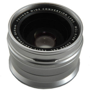 Fujifilm Wide Conversion Lens WCL-X100 (Silver)