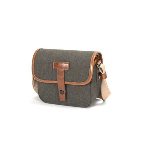 HERRINGBONE Muppen Canvas Camera Bag (Olive)