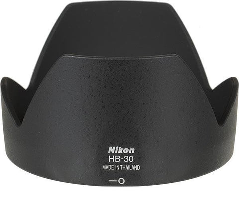 Nikon HB-30 72mm Bayonet Lens Hood for AF28-200/3.5-5.6G (Black)