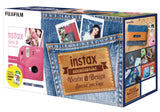 Fujifilm Instax Mini 9 Instant Film Camera (Cobalt Blue) Denim SPECIAL KIT