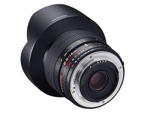 Samyang 14mm F2.8 ED AS IF UMC (Nikon AE – Full Frame)