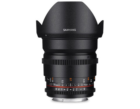 Samyang 16mm T2.2 VDSLR ED AS UMC CS II (Sony E-Mount)