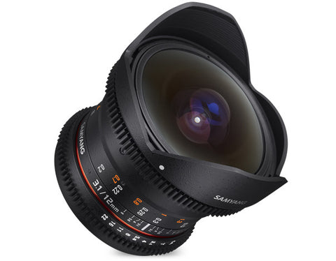 (SALE) Samyang 12mm T3.1 VDSLR ED AS NCS Fisheye (Canon EF)