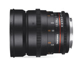 Samyang 24mm T1.5 VDSLR ED AS IF UMC II (Sony E-Mount – Full Frame)