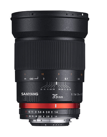 Samyang 35mm F1.4 AS UMC (Fujifilm X-Mount)