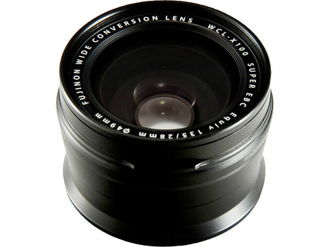 Fujifilm Wide Conversion Lens WCL-X100 (Black)
