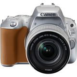 Canon EOS 200D + EF-S 18-55mm f/3.5-5.6 IS STM Lens (Silver)