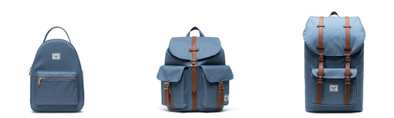 Herschel the Blue Mirage Crosshatch Color