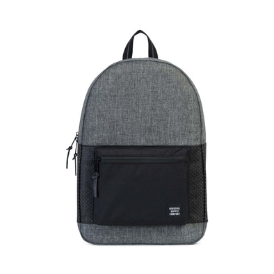 Herschel Settlement Raven Crosshatch/Black - Aspect