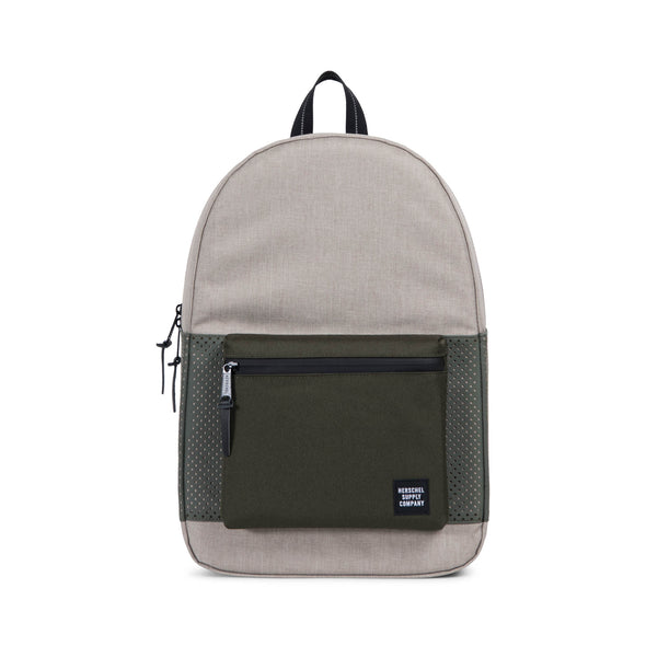 Herschel Settlement Light Khaki Crosshatch/Forest Night - Aspect