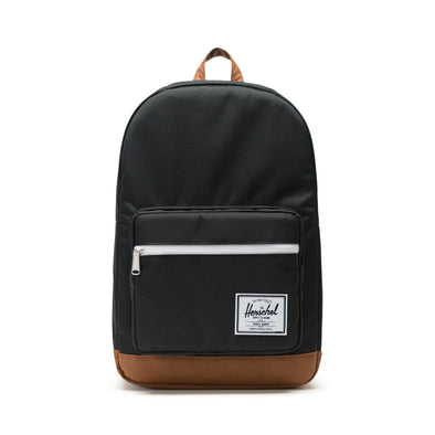Mochila Herschel Pop Quiz Black/Tan Synthetic Leather