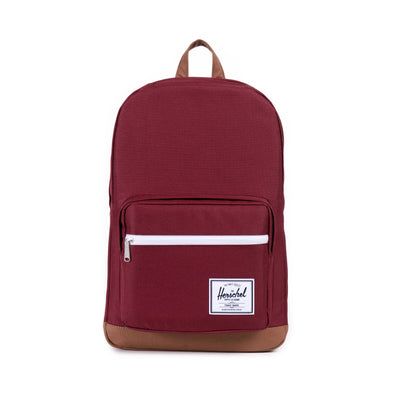 Herschel Pop Quiz Windsor Wine Tan Synthetic Leather