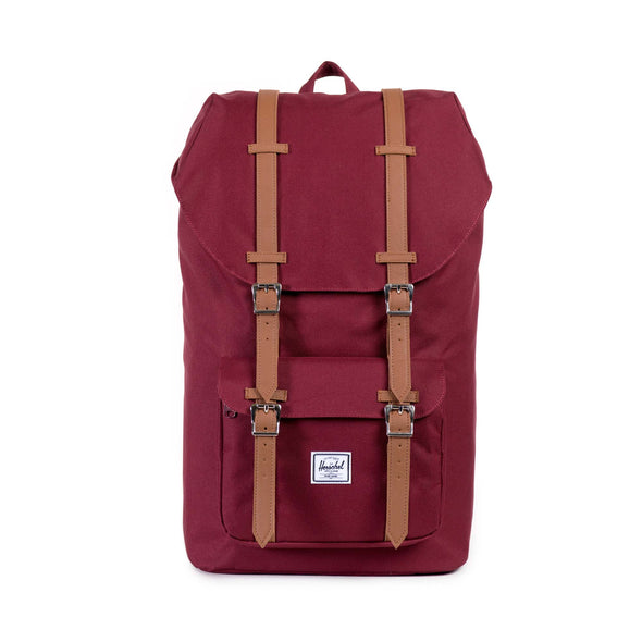 Herschel Little America Windsor Wine Tan Synthetic Leather