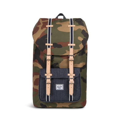Mochila Herschel Little America Woodland Camo/Dark Denim - Offset